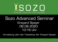 Sozo Advanced Seminar